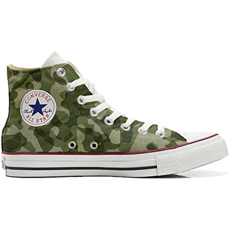 mys Converse All Star Hi Chaussures Coutume Mixte Adulte Adulte Adulte (Produit Artisanal) Mimetiche - B06X965STZ - 5eca06