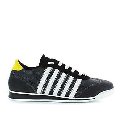 Schuhe Grau Gelb 2019 New Herren Runner Dsquared2 Fw Sneaker L4j3RA5