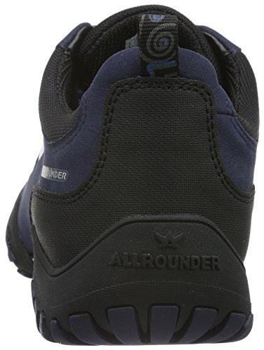Allrounder by Mephisto - Fina-tex Rubber 1/G Nubuk 97 Black/Indigo, Scarpe da ginnastica Donna Blu (Blau (Black/Indigo))