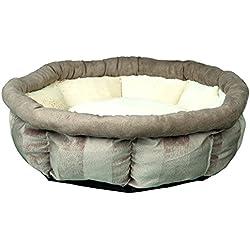 Trixie Peluche Leona cama, 45cm de diámetro, marrón/crema