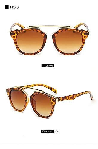LAMAMAG Sonnenbrille Runde Männer Sonnenbrille Frauen Männer Brille Für Frauen Uv400 Eyewear Oculos Gafas De Sol Feminino, 3