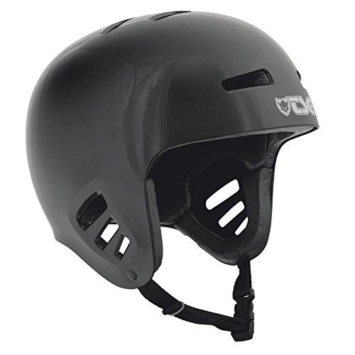 TSG Helm Dawn Solid Color, Unisex, Negro, S/M
