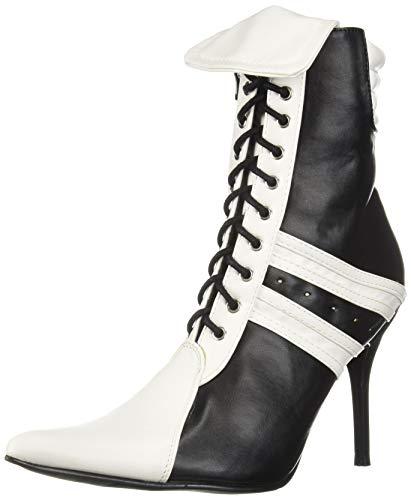 Ellie Shoes Damen 457-Ref, schwarz/weiß, 39 EU (Womens Ref Kostüm)