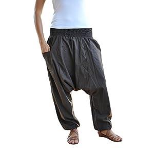 virblatt – Yogahose Haremshose Damen und Herren Yoga Kleidung – Unüberlegt