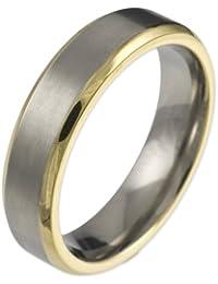 CORE by Schumann Design Herren-Ring aus Titan ohne Stein TT066.01