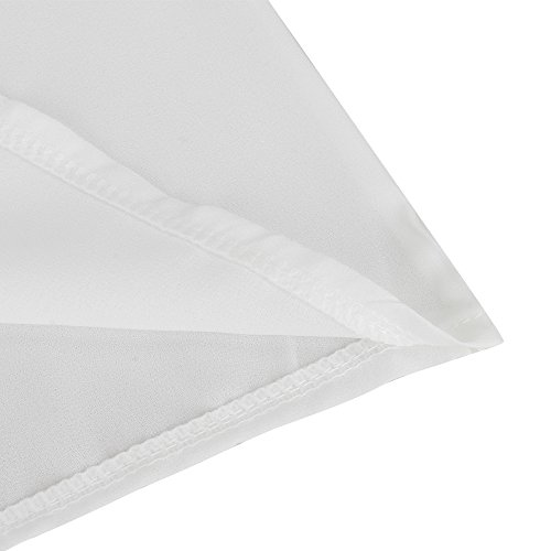 Walant Damen Strandkleid Kleidung Strand Hemdkleid V-Ausschnitt Rock Cover Ups Weiß