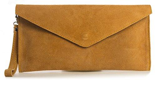 Big Handbag Shop, Borsetta da polso donna One Powder Orange (ST378)