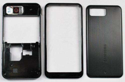 900 Omnia Black (Front+Back+Lens) (Original) ()