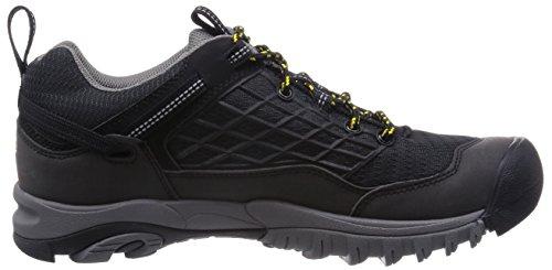 Keen Saltzman Wp, Scarpe da Escursionismo Uomo Schwarz (Black/Keen Yellow)