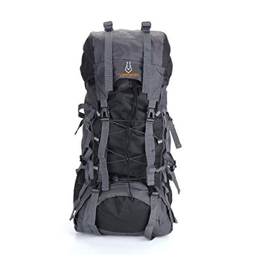 Felicipp zaini outdoor impermeabile e indossabile zaino itinerante ad alta capacità multifunzione (color : black)