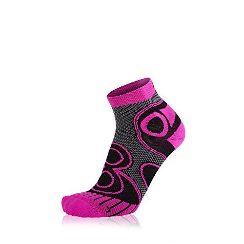 EIGHT SOX Runningsocken Ambition Short, Black/Pink, 39-41, 88 810005