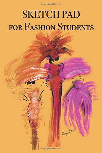 Sketch Pad for Fashion Students: Stylishly illustrated little notebook for you to record all your ideas whenever inspiration strikes you!