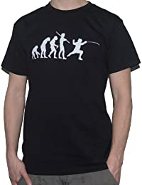 Evolution Fencer T-Shirt / Fencing Sports Sword by My Cup Of Tee