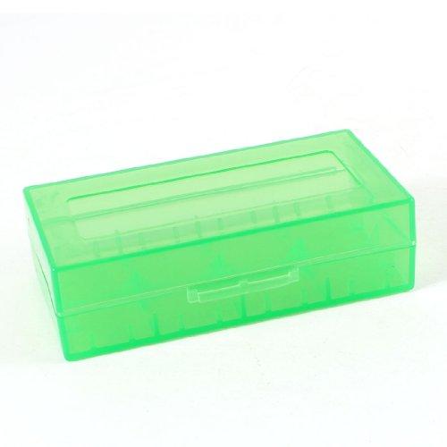 Sourcingmap Vert Dur Boîtier en Plastique Boîte De Rangement pour 18670 18650 CR123A Piles