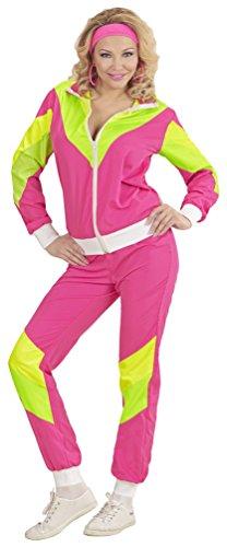 0-er Jahre Kleidung Damen-Kostüm New Kids Assi Proll Kostüm 80s Joggingjacke und Jogginghose Größe 38/40 (80er Jahre Anzug Kostüm)