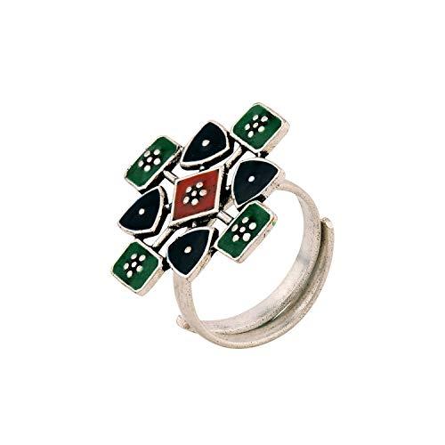 Voylla Ring for Women (Multi Colour)(8907617855035)
