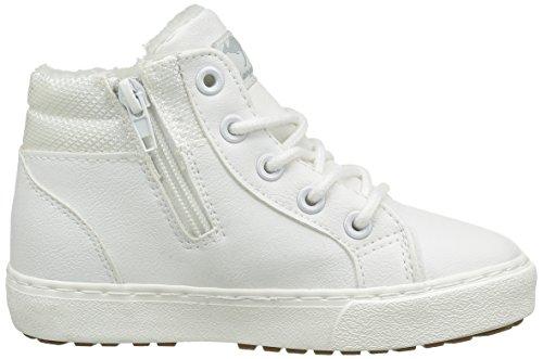 KangaROOS Unisex-Kinder Kavu I High-Top Weiß (offwhite/lt Grey 002)