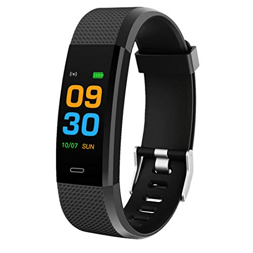 Bingo F0s Smart Band/Fitness Band with Color Display (Black)