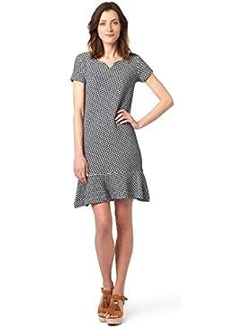 Tom Tailor für Frauen Dress Kleid mit Volant-Ansatz