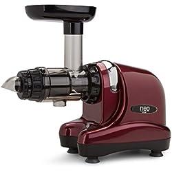 Extracteur de jus Oscar Neo DA 1000 - Slow juicer, extraction lente à froid - couleur bordeaux
