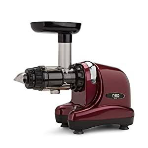 Extracteur de jus Oscar Neo DA 1000 - Slow juicer, extraction lente à froid - couleur bordeaux