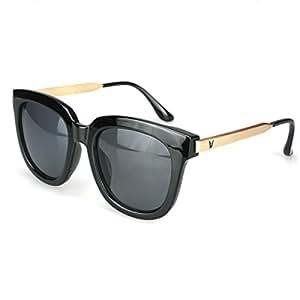 Fashion, Retro Sunglasses, Men And Women Sunglasses,Black