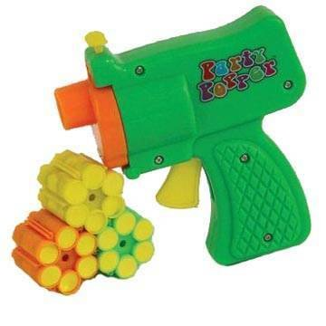Konfetti-Pistole, 6er Schuss