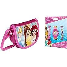 Bolso bandolera Princesas Disney + Reloj pulsera Disney Princesas