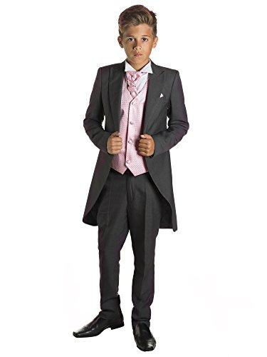 Kostüm Jungen 12 Für Jährigen - Paisley of London, Jungen Grau Kostüm zu Schwanz, Jungen Morning Halt, Jungen Stinkefinger Halt, 12-18Monate-13Jahre Gr. für 7-Jährige, Rosa - Rosé