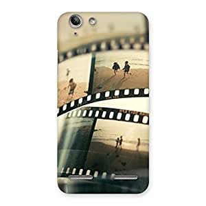 Neo World Image Roll Back Case Cover for Vibe K5