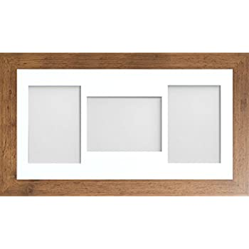 Frame Company White Beech Rustic Multi-Aperture Photo Frame with ...