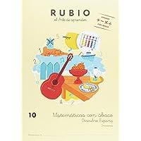 Matemáticas con ábaco 10. Descubre España