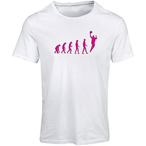 N4229F Camiseta mujer Evolución de Baloncesto