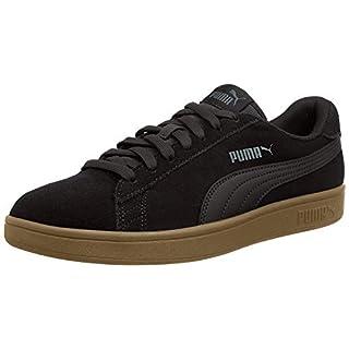Puma Puma Smash v2, Unisex-Erwachsene Sneakers, Schwarz (Puma Black-puma Black), 45 EU