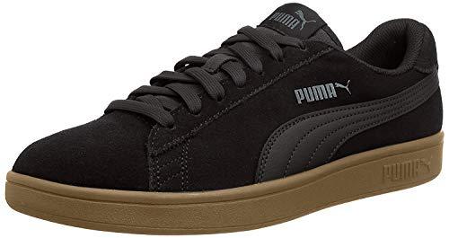 Puma Puma Smash v2, Unisex-Erwachsene Sneakers, Schwarz (Puma Black-puma Black), 41 EU