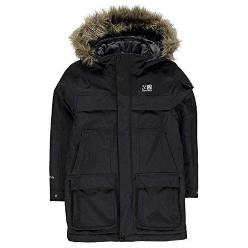 Karrimor Kids Boys Parka Jacket Coat Top Long Sleeve Waterproof Windproof