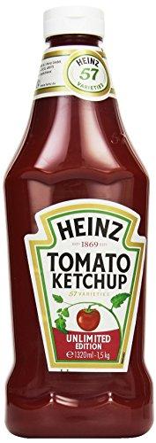 Heinz Tomato Ketchup, Squeeze-Dosierflasche, 1.32 l