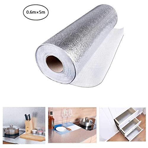 Aufkleber Küchen Anti-Schimmel Öl Resistent Passend für Schrank PVC PET Folie Selbstklebende Aufkleber