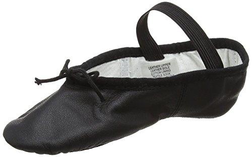 Bloch Arise Leder Ballettschuh Schwarz EU 26 C UK 8.5 C