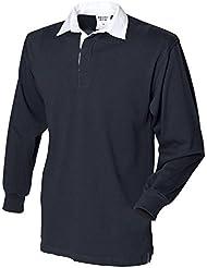 Camisa de manga larga de la primera fila original de Rugby