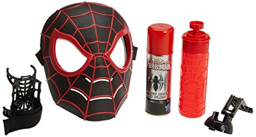 Hasbro – C1989 – Marvel – Spider-Man – Spider-Man Kid Arachnid Maske & Super Web Slinger – 2 in 1 - Spider-man-shooter