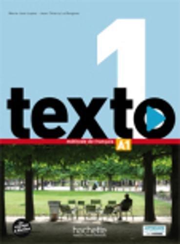 Texto. Livre eleve-Manuel numerique. Per le Scuole superiori. Con DVD-ROM. Con espansione online: 1