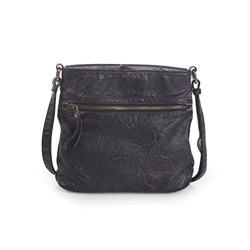 LOIS - Borsa a tracolla per donna, Maroon collezione Grigio scuro