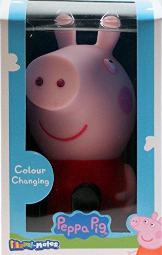 Peppa Pig LED-Licht, Farbwechselndes Nachtlicht für Kinder, Schlafzimmer/Kinderzimmer. (Nacht Pig)