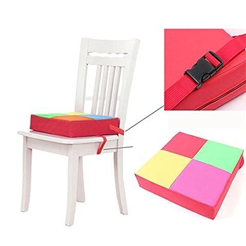 BWinka rappel réglable siège tapis de chaise et les coussinets de chaise pour enfants Chaise augmentation Coussin Démontable