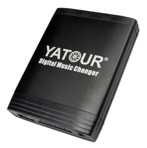 Yatour YT-M06-BM4 USB SD AUX Adapter Musik autoradio kompatibel mit BMW für 4:3 Radios ohne Navi cd wechsler, mp3 player (Sirius-radio-auto-adapter)