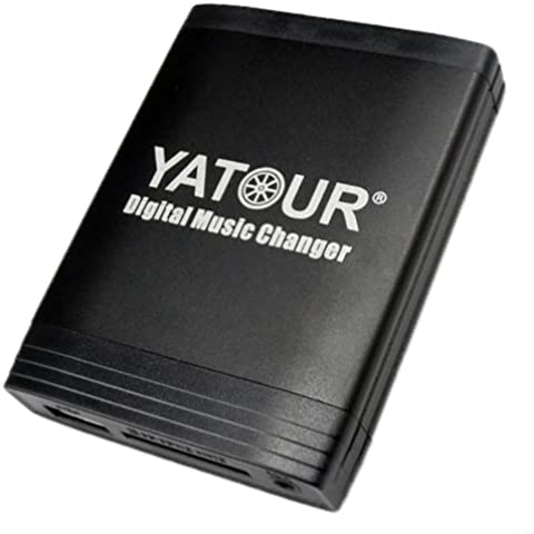 Anycar - Adattatore con interfaccia USB SD AUX MP3 per Volkswagen: Delta/Premium R110, RCD200; Audi: Chorus 2+/3, Concert 2+/3, Symphony 2+/3, Navigation Plus 3, RNS-E, BNS 5.0; Skoda: Rhapsody