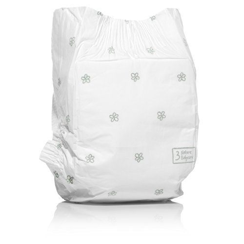 NATY by Nature Babycare Ökowindeln – Größe 3 (4-9 Kg), 4er Pack (4 x 31 Stück) - 2