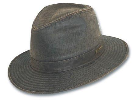 Indiana Jones Men's Weathered Cotton Hat