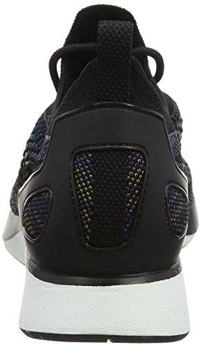 Nike Damen Air Zoom Mariah Flyknit Racer Sneaker Schwarz (nero / Nero-sommità Bianco-deserto Muschio-verde)